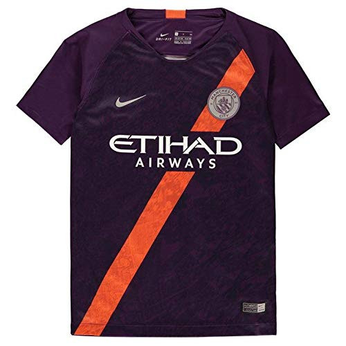 NIKE 2018-2019 Man City Third Football Shirt (Premier League Soccer Jerseys)