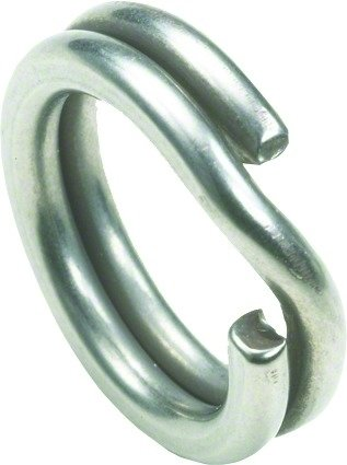 Owner 5196-064 Hyper Wire Split Ring, 8-Pack, Sz6, 70-Pound, Stainless