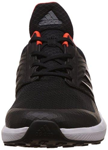 Adidas Rapidarun K, Scarpe da Ginnastica Unisex – Bambini, Nero (Negbas/Negbas/Energi), 38 EU