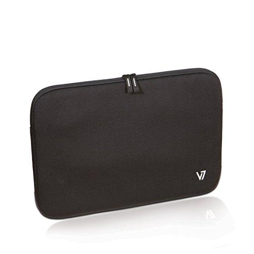 (V7 Vantage Laptop Sleeve 16-Inch CSV1-9N, Black)