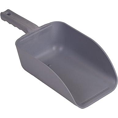 82 oz. Remco 6500MD3 Blue Polypropylene MD Metal Detectable Hand Scoop