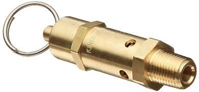 """Kingston 112CSS Series Brass ASME-Code Safety Valve, 200 psi Set Pressure, 1/4"""" NPT Male from Kingston Valves"""