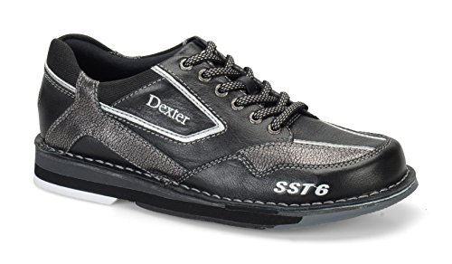 Dexter SST 6 LZ Wide Bowling Shoes Black/Alloy 9.0 [並行輸入品]   B06XFWJLSG