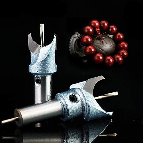 6mm 30mm Stahl Holzbearbeitung Fräser Buddha Perlen Ball Bohrwerkzeug