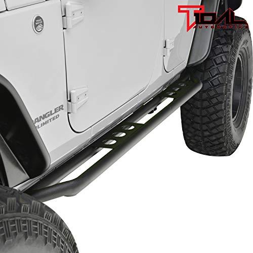 4 Doors Off-Road Steel Rock Slider for 2007-2018 Jeep Wrangler JK