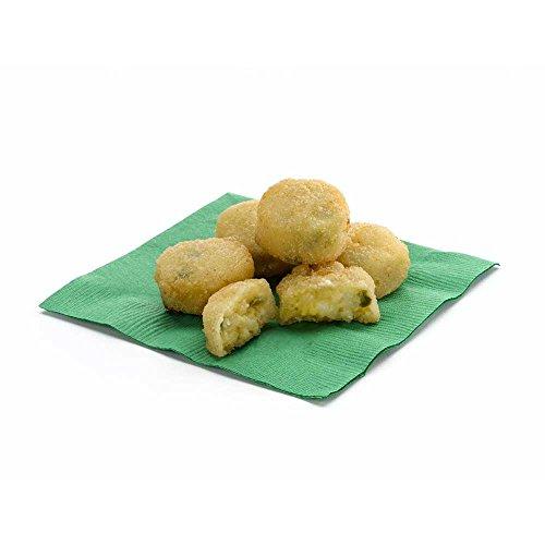 (Golden Crisp Breaded Jalapeno Cheddar Potato Bites, 3 Pound -- 4 per case.)