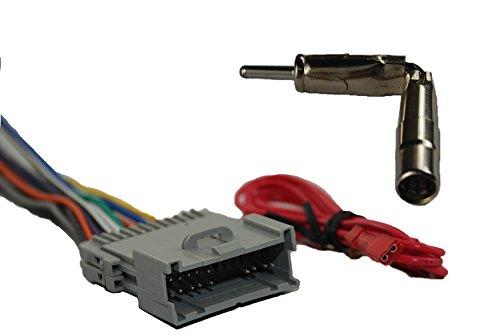 Novosonics GMF-416+GM3 car stereo wiring harness for GM 1998