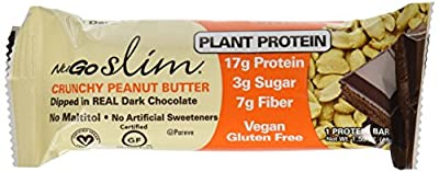 Nugo Slim - Crunchy Peanut Butter 12 / 1.59 oz Bar(S)