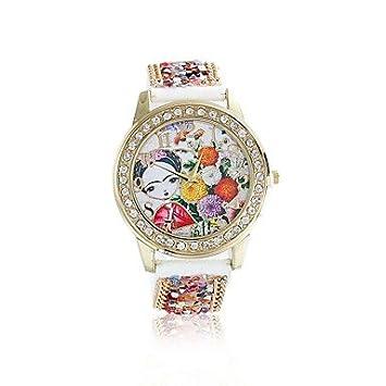 Fashion Watches Relojes Hermosos, Mujeres/Reloj de Manera de la señora Linda Cuentas Especiales