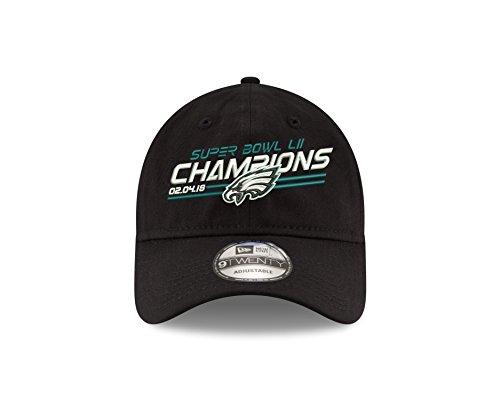 Philadelphia Eagles New Era Super Bowl LII Champions 9TWENTY Adjustable Hat