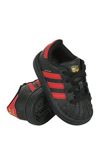 sale latest outlet original adidas Kids' Superstar Sneaker Core Black/Scarle/Goldmt cheap price in China 5JULvMj