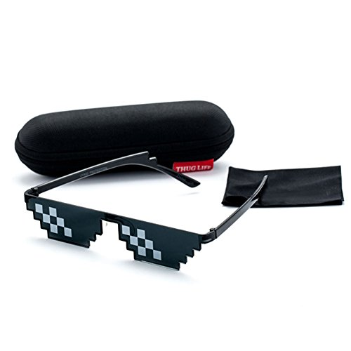 Deal With It Sunglasses Men Thug Life Minecraft Polygonal 8 Bits - It Review Sunglasses