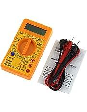 TMYQM Digital Multimeter Voltmeter Voltage Ampere Ohm Tester DC AC Ammeter Power Meter Test with Lead Probe Buzzer