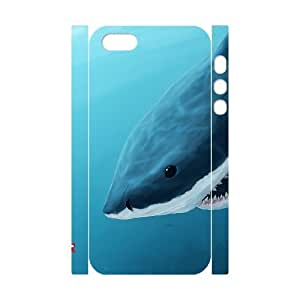 VNCASE Deep Sea Shark Phone Case For iPhone 5,5S [Pattern-1]