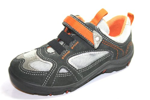 Ricosta , Babies pour fille Gris Grau/Orange 25