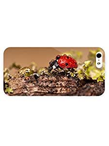 3d Full Wrap Case for iPhone 5/5s Animal Ladybug40