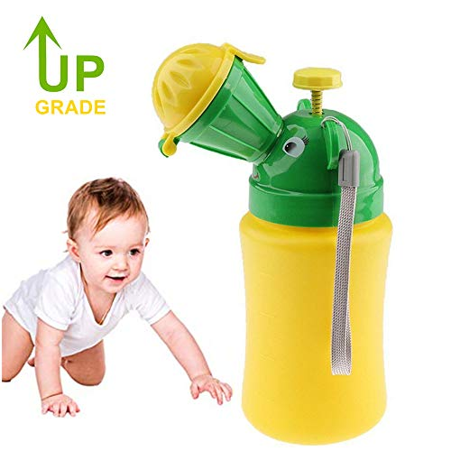 FST Upgrade Portable Emergency Urinal Potty Toilet Pee Pee Training Cup for Baby Child Kids, Used for Car Travel and Camping (Boys)