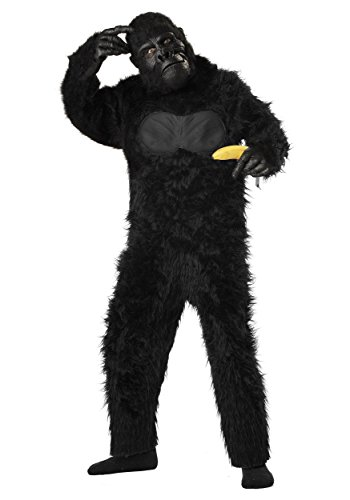 [California Costumes Deluxe Gorilla Costume 2x-large (14-16)] (Banana Gorilla Costume)
