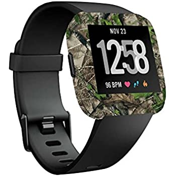 MightySkins Skin Compatible with Fitbit Versa Smartwatch - HTC Green   Protective, Durable, and Unique Vinyl Decal wrap Cover   Easy to Apply, Remove, ...
