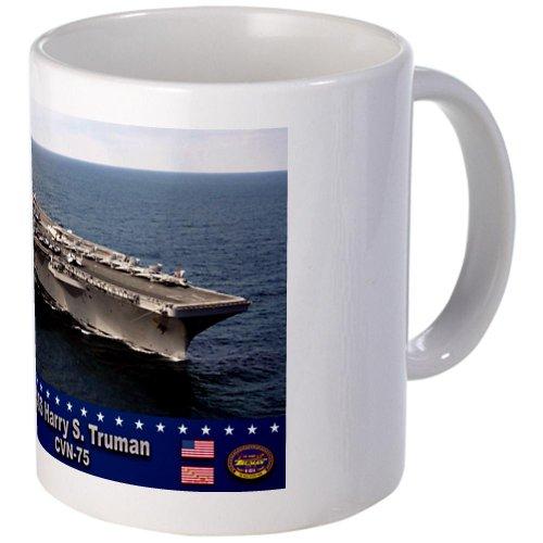 USS Harry S. Truman CVN-75 Mug Mug by CafePress (Uss Nimitz Coffee Cup compare prices)