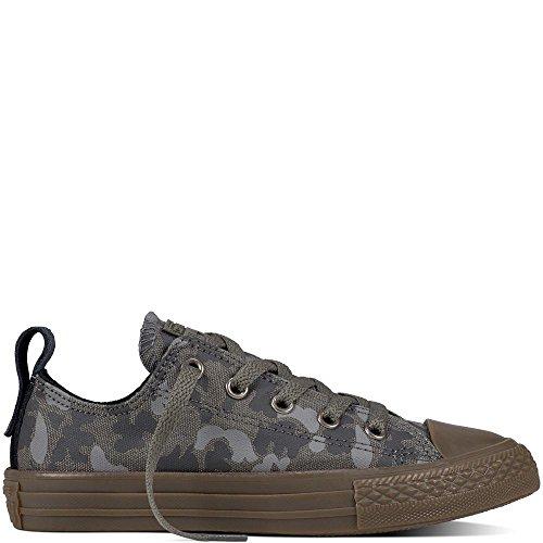Converse Chuck Taylor CTAS Double Tongue Ox Cotton, Chaussures de Fitness Mixte Adulte