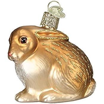 Amazon.com: Ornaments to Remember: BUNNY Christmas Ornament (Lop Ear ...