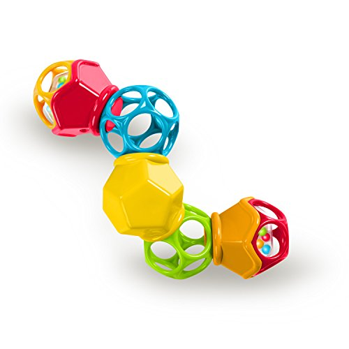 O Ball Clicky Twister Easy Grasp Rattle