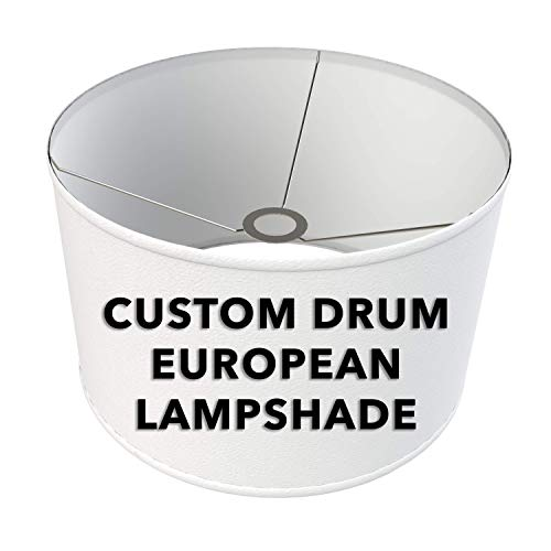 - FenchelShades.com Fully Customizable Drum Lampshade with European-Style Attachment. Virtually Any Size or Color. Custom Made in USA.