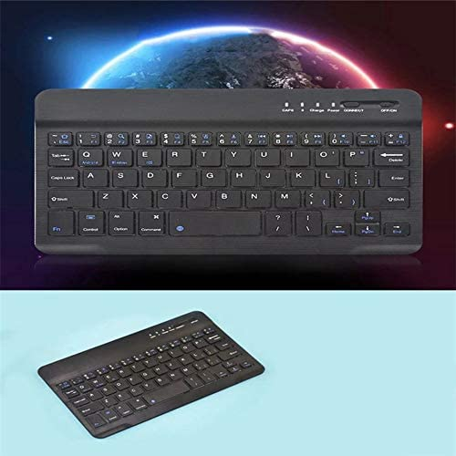 Keyboard 7 inch 10 Meters Wireless Reception Distance Office Gaming Mouse Keyboard Three Systems Common Keyboard