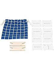 30Pcs Weaving Cards, Tablet Weaving Card Paper Loom Card, Weaving Shuttle for Loom or Inkle Loom Weaving Supplies Deft and Attractive