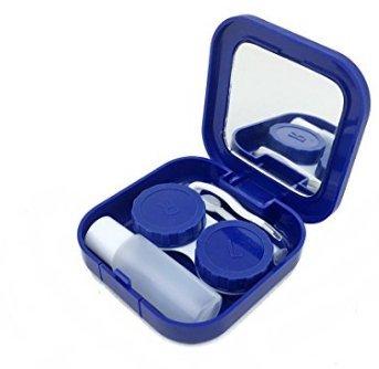 Asremit Étui à lentilles de Contact Portable avec boîtier en Plastique Stealth Companion (Rose)