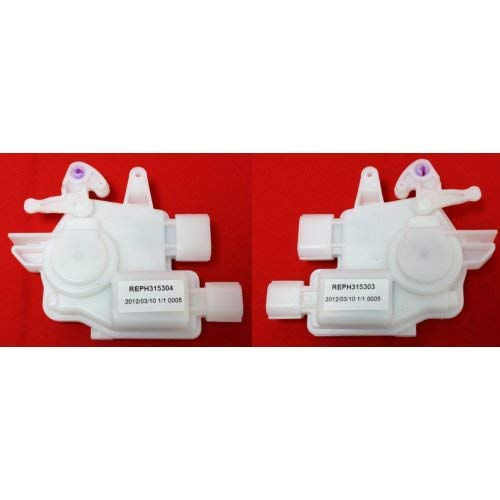 Evan-Fischer EVA2480612183914 Door Lock Actuator Set for 2006-2007 Honda Accord Front or Rear Left and Right Side
