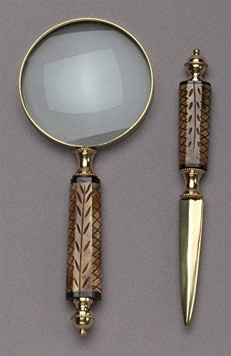Magnifying Glass & Letter Opener Set