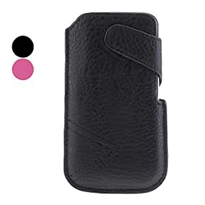 Light Surface Protective PU Leather Pouch Case for Samsung Galaxy S3 I9300 (Assorted Colors) --- COLOR:Black