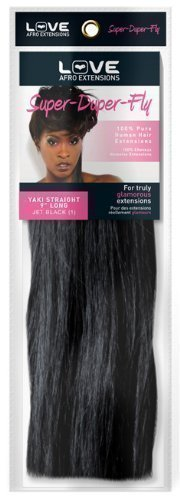 """Super Duper Fly 100% Human Hair Extensions - Yaki Straight 15"""" Long #33 Rich Copper"""