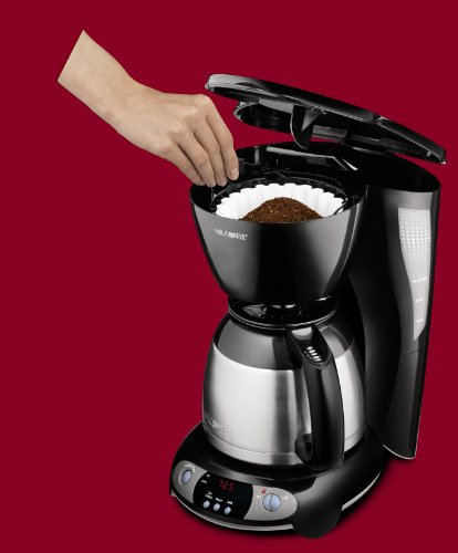 Mr Coffee Thermal Coffee Maker 8 Cup : Kitchen Tools Mr. Coffee 8-Cup Thermal Programmable Coffeemaker, Black
