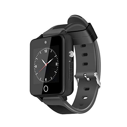 (New ZGPAX S9 1.54'' 3G Android Smart Watch Phone Quad Core 1GB+16GB ROM GPS WiFi Bluetooth Watch Camera (black))