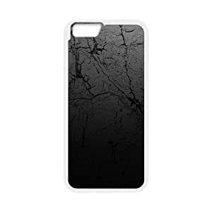 Black wall iPhone 6 Plus 5.5 Inch Cell Phone Case White AMS0641932