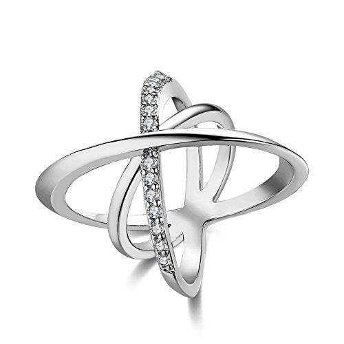 Unisex Charms Jewelry Platinum Plating Romantic Geometry Sta