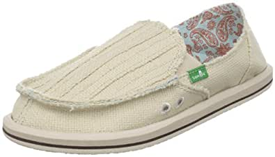 Sanuk Women's Carpe DM Sidewalk Surfer,Sand,6 M US