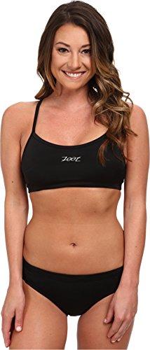 Zoot Sports Women's Interval Swim Set Black/Black Swimsuit Set MD (Zoot Suit Women)