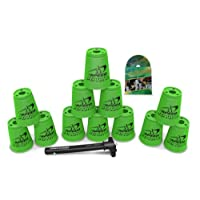 Apilamiento deportivo con Speed Stacks Cups Neon Green (Cup Stacking)