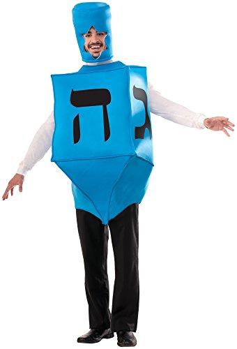 Costume Halloween Dreidel (Forum Novelties Men's Dreidel Hanukkah Costume, Blue, One)