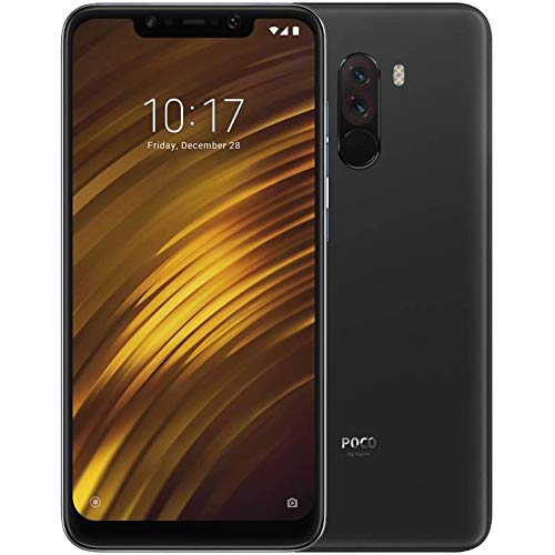 Xiaomi Pocophone F1 128GB Graphite Black, Dual Sim, 6GB RAM, Dual Camera, 6.18, GSM Unlocked Global Model, No Warranty
