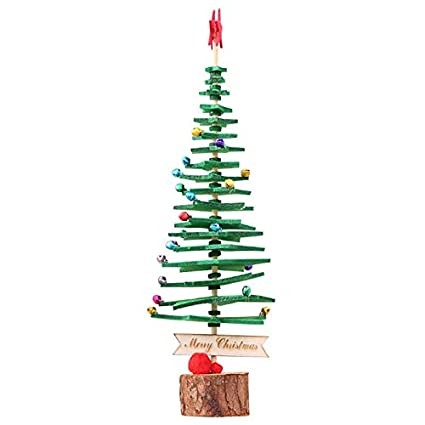Christmas Tree Sprayer.Amazon Com Trees 1pc Christmas Tree Bell Small Pine Mini