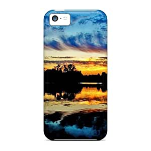 Ideal Case888cover Cases Covers For Iphone 5c(colorful Sky At Nightfall), Protective Stylish Cases