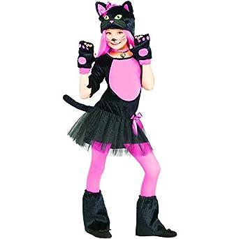 Miss Kitty Cat Kids Costume  sc 1 st  Amazon.com & Amazon.com: Miss Kitty Cat Kids Costume: Clothing