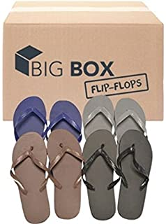 DDI Big Box Wholesale Menu0027s Basic Flip Flops   Assorted Colors
