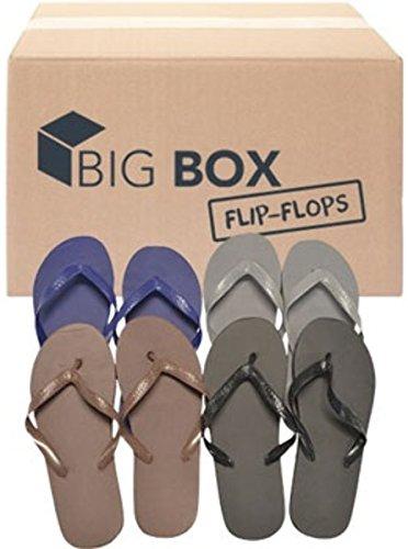 DDI Big Box Wholesale Men's Basic Flip Flops