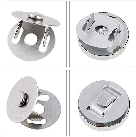 CODIRATO 20PCS Botónes Magneticos 14/18 mm Cierre Magnético de ...